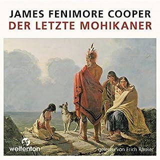 Der letzte Mohikaner                   Autor:                                                                                                                                 James Fenimore Cooper                               Sprecher:                                                                                                                                 Erich Räuker                      Spieldauer: 15 Std. und 23 Min.     92 Bewertungen     Gesamt 4,5