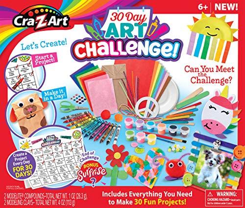 Cra-Z-Art 30 Day Art Challenge Craft Kit