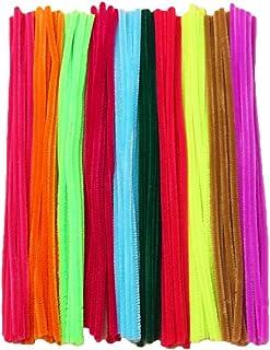 Multicolori Scovolini per Pulizia Collo di Bottiglie 100 pz Creation Station 300 x 6 mm Misura Jumbo