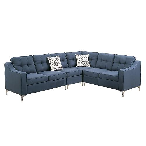 Navy Sectional Sofa: Amazon.com