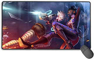 Computer Gaming Widowmaker Mouse Pad Mouse Mat Non-Slip Rubber Base New Mouse Pads for Computers Large Gaming (75Mmx40Mmx3Mm)