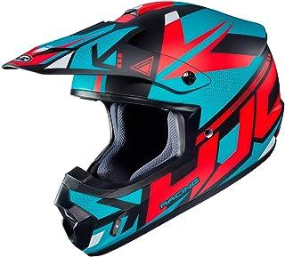 HJC CS-MX II Madax Motocross Helm Schwarz/Grün/Rot M 57/58