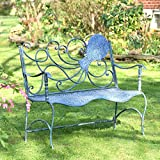 Coastal Blue Metal Furniture Collection (Bench, Octopus)