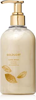 Thymes - Goldleaf Hand Wash with Pump - Hydrating Liquid Hand Soap with Elegant Floral Scent - 8.25 oz