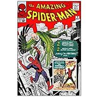 アメリカンコミックス マーベルキャラクター コミックカバー ポスター アメイジング・スパイダーマン #2 / MARVEL COMICS POSTER AMAZING SPIDER-MAN 【並行輸入品】