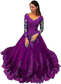 pale purple wedding dress