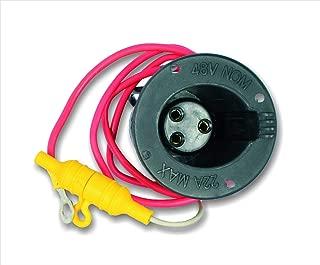 club car precedent charger receptacle