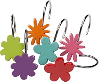 Creative Bath Products All That Jazz Shower Hooks, 12-Pack