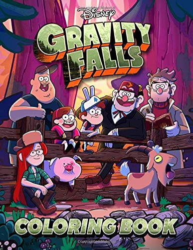 Gravity Falls Coloring Book: Color In All Your Favorite Characters!