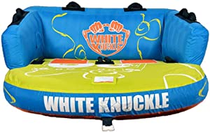 White Knuckle Rewind 2 Chariot Style Easy Connect 2 Person Inflated Towable Tube