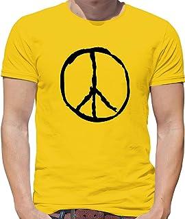 Peace Sign - Mens T-Shirt - 10 Colours