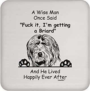Sponsored Ad - Funny Saying Briard Gifts For Men Coaster