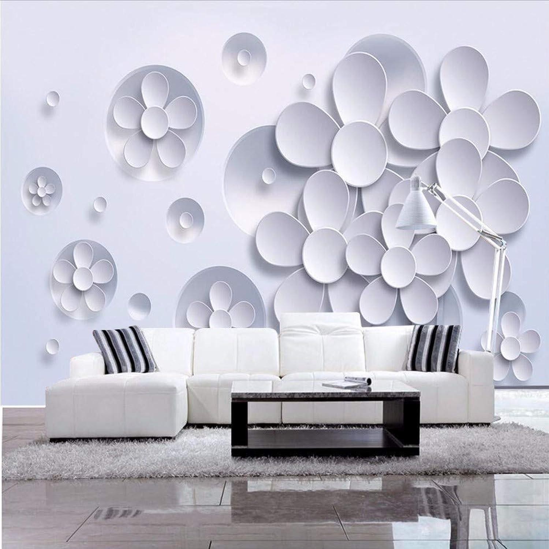 colores increíbles Weaeo Papel Papel Papel Tapiz Fotográfico Pintura Mural Arte Moderno Papel No Tejido Tv 3D Contratado Sentado blancoo Loto Flores Gran Mural De Papel Mural-200X140Cm  descuento online