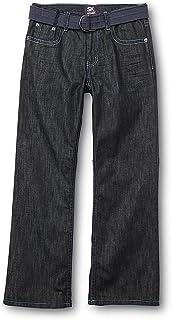 SK2 Boys Bootcut Jeans & Belt - Dark Wash, 12