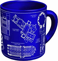 Architectural drawings of 10 famous buildings from classical to classic. Who wouldn't love this mug? Only a real CAD! 10 oz. mug. Dishwasher and microwave safe. Comes in a colorful box. Click on the link to our store page near the product title to se...