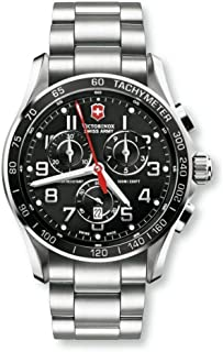Victorinox Swiss Army XLS Classic Black Chronograph Men's Watch 241443