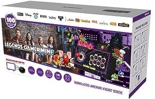 Legends Gamer Mini Stick Arcade sans Fil 100 Jeux Inclus [Edizione: Francia]