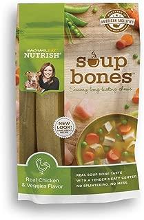 Rachael Ray Nutrish Soup Bones Dog Treats, Chicken Flavor, 3-Count , 6.3 Oz, (Pack Of 4)