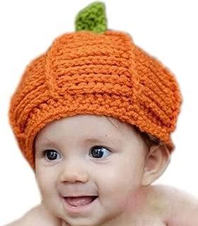 baby pumpkin hat crochet