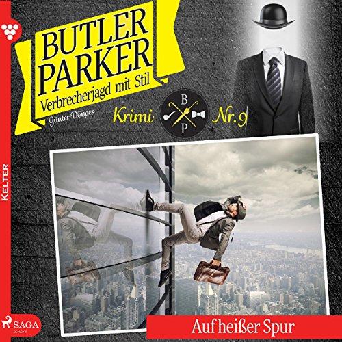 Auf heißer Spur audiobook cover art