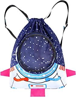 Suszian Mochila para niños, Mochila Impermeable para niños Mochila Deportiva para niños de Dibujos Animados Mochila para niños Niñas Mochila de natación Bolsas de natación para astronautas