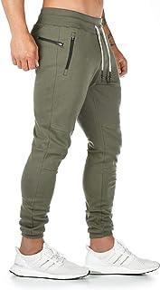 CakCton heren joggingbroek sportbroek katoen fitness slim fit broek vrijetijdsbroek joggers streetwear