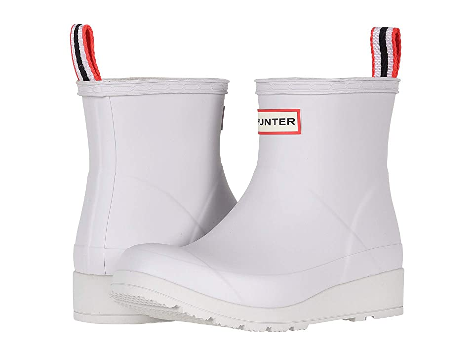 Hunter Original Play Boot Short Rain Boots (Hunter White) Women