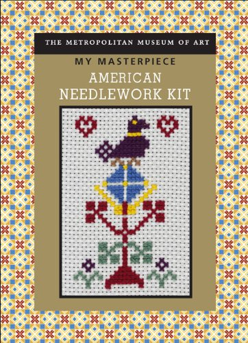 American Needlework Kit [With Needle, Embroidery Floss, 9-Count Aida Cloth and Cross-Stitch Chart and Booklet] (My Masterpiece)