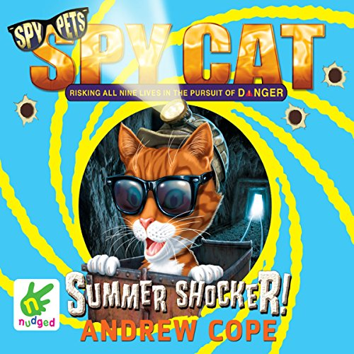 Spy Cat: Summer Shocker! audiobook cover art
