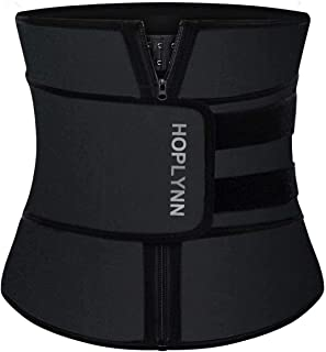 Neoprene Sweat Waist Trainer Corset Trimmer Belt for...