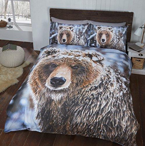 copripiumino matrimoniale animali Rapport Big Bear Copripiumino King