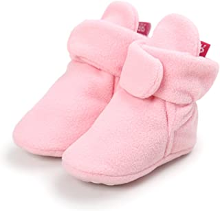 Save Beautiful Newborn Infant Baby Girls Boys Warm Fleece Winter Booties  First Walkers Slippers Shoes 00d3beeca