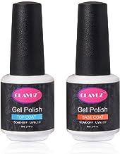 Clavuz Esmalte de Uñas de Gel Base Coat + Top Coat 2pcs UV LED Manicura y Pedicura - 8ml
