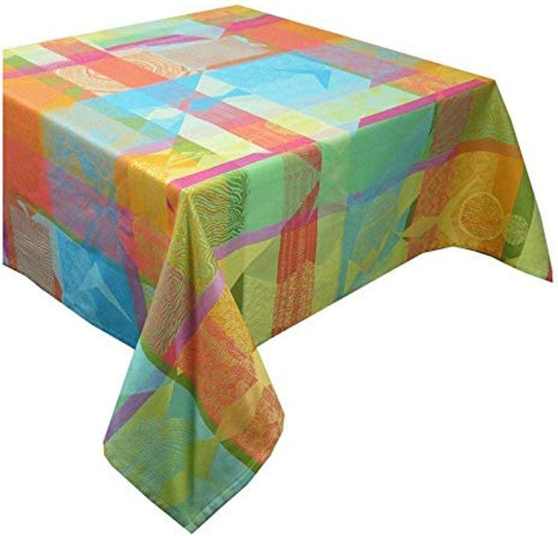 Sale SALE% OFF Garnier Thiebaut Mille Tingari Tablecloth Cotton San Francisco Mall Austral Coated