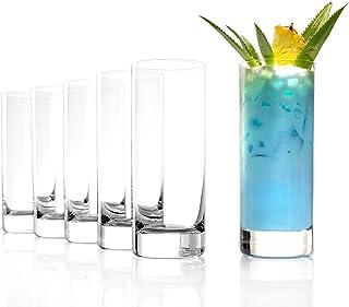 Stölzle Lausitz Gläser 380ml I Wassergläser der Serie New York Bar I 6er Gläser-Set spülmaschinenfest I Große Saftgläser I Universalgläser aus bleifreiem Kristallglas I hochwertige Qualität