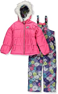 Skechers Girls' 2-Piece Heavyweight Snowsuit