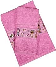 LOL Surprise Set Asciugamani Bagno Bambina colore Rosa SET ASCIUGAMANO OSPITE