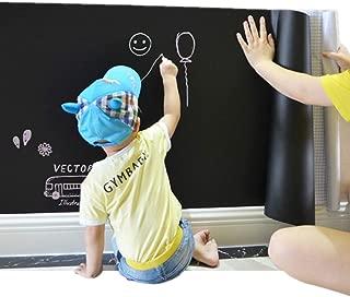 Moyishi Large Chalkboard Decal Black Wall Sticker Adhesive Paper (24''x79'')