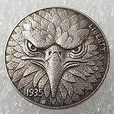 YunBest Mejores dólares estadounidenses Morgan - Moneda de níquel Hobo -1935 Recolección de Monedas-Dólar...