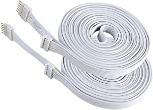 Extension Cable for Philips Hue LightStrip Plus V3 version only (10 ft/3 m, 2 Pack, White)
