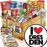 I love Dresden / Süße DDR Geschenkbox / Geschenk für Dresden Fan