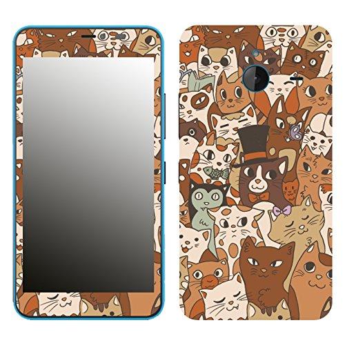 Disagu SF-106286_840 Design Skin für Microsoft Lumia 640 XL - Motiv Mittens and Friends 02
