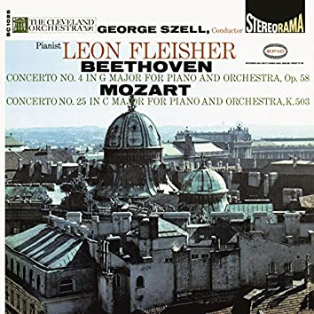 Beethoven: Piano Concerto No. 4, Op. 58 - Mozart: Piano Concerto No. 25, K. 503