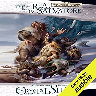 The Crystal Shard     Legend of Drizzt: Icewind Dale Trilogy, Book 1              Written by:                                                                                                                                 R. A. Salvatore                               Narrated by:                                                                                                                                 Victor Bevine                      Length: 12 hrs and 2 mins     71 ratings     Overall 4.6