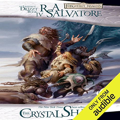 The Crystal Shard audiobook cover art