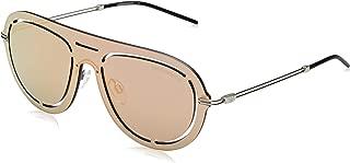 Kính mắt nữ cao cấp – EA2057 30154Z Grey Mirror Rose Gold EA2057 Pilot Sunglasses Lens