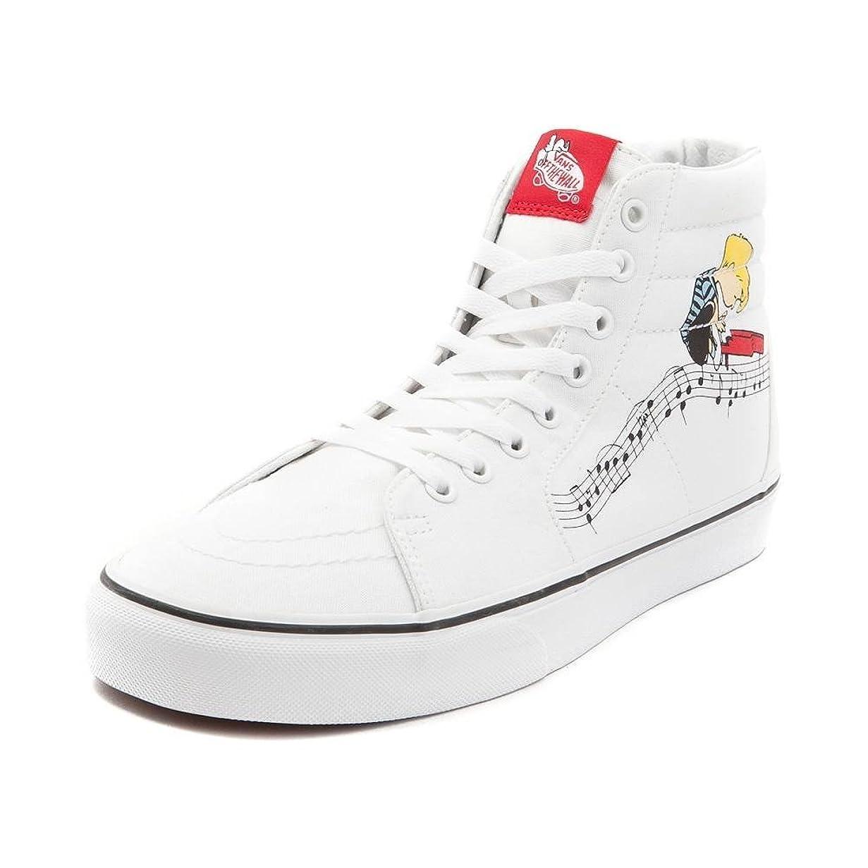 決済大統領抗議[VANS(バンズ)] 靴?シューズ スニーカー Vans Sk8 Hi Peanuts Lucy/Schroeder Skate Shoe [並行輸入品]