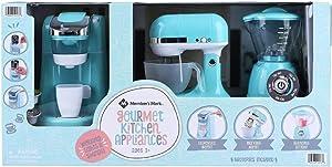 MEMBER'S MARK Gourmet Kitchen Appliance PLAYSET for Kids (Blue)
