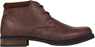 Soviet Mens Fleet Chukka Boots Shoes Lace Up Padded Ankle Collar