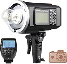 Godox HSS AD600BM Bowens Mount 600Ws GN87 High Speed Sync Outdoor Flash Strobe Light with XPro-C Wireless Flash Trigger, 8700mAh Battery Pack to Provide 500 Full Power Flashes for Canon